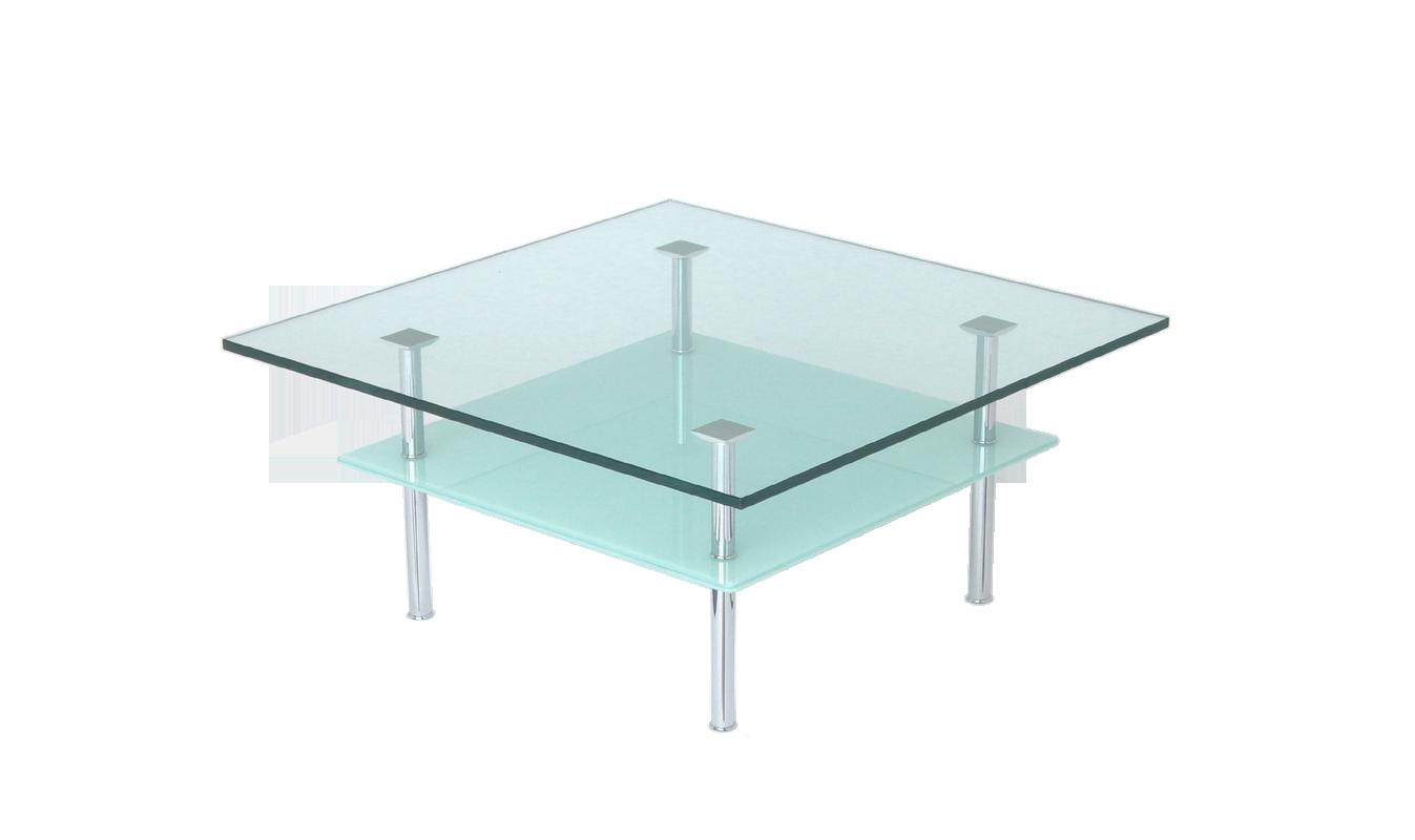 Glastische auf rollen nach ma rechteckig oder rund for Glastisch 90x90
