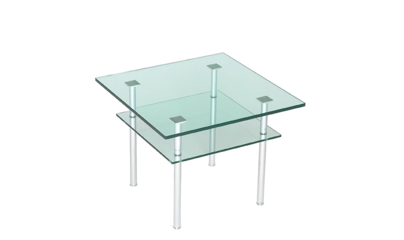 Glastische auf rollen nach ma rechteckig oder rund for Couchtisch 65x65