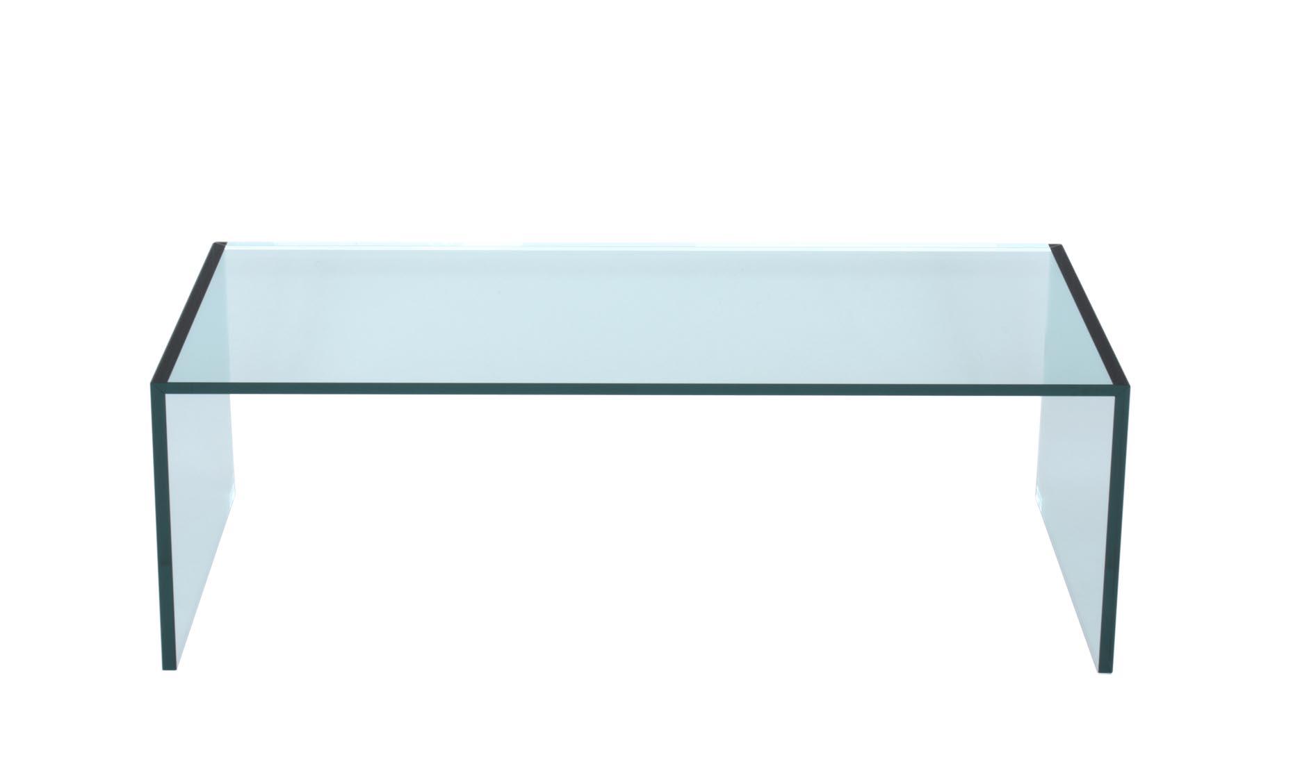 couchtisch tunel pures glas u tisch nach ma. Black Bedroom Furniture Sets. Home Design Ideas
