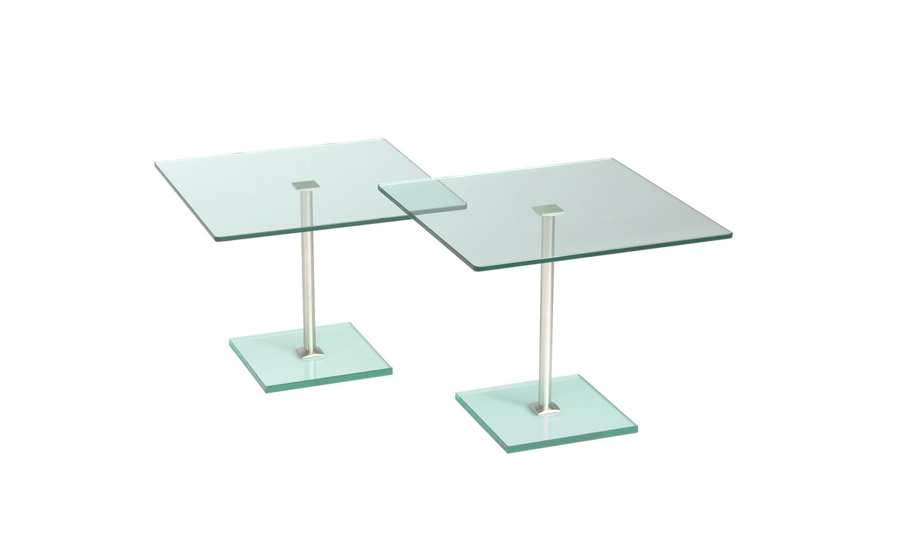 beistelltisch quadratisch glas nach ma centro boden q. Black Bedroom Furniture Sets. Home Design Ideas