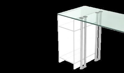 Esstische glas nach ma design schreibtische for Schreibtisch untergestell