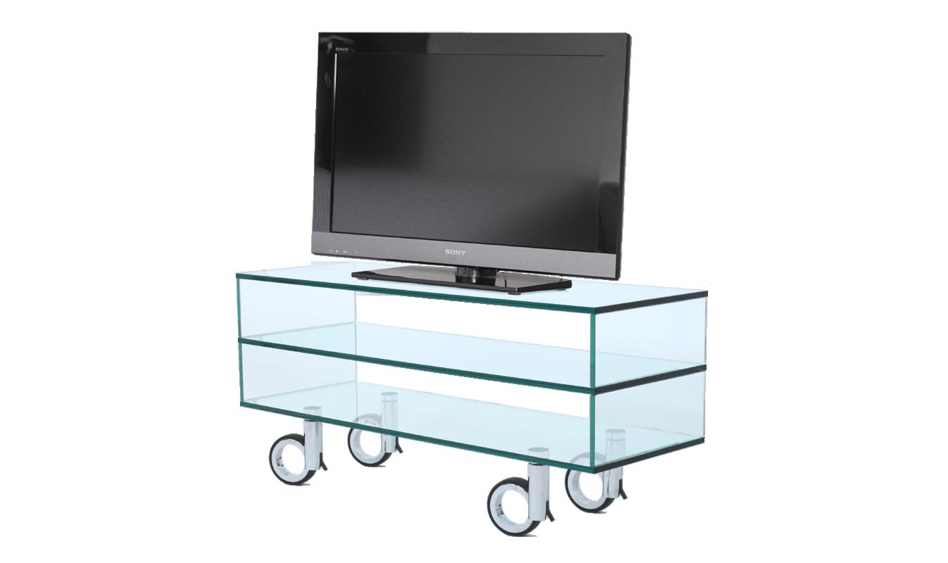 tv regal glas rack sideboard open look und duo. Black Bedroom Furniture Sets. Home Design Ideas