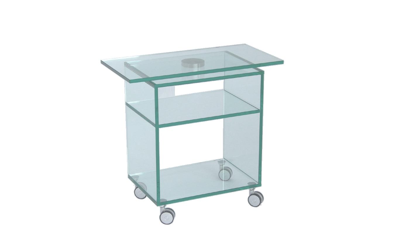 aus glas mit rollen perfect glas rollen amazing glas auf rollen couchtisch eckig aus glas x cm. Black Bedroom Furniture Sets. Home Design Ideas