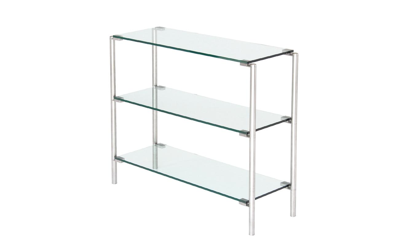 tv rack glas edelstahl perfect tv rack in mit rollen with tv rack glas edelstahl great full. Black Bedroom Furniture Sets. Home Design Ideas